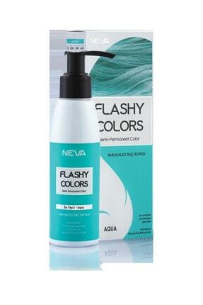 Flashy Colors Yarı Kalıcı Saç Boyası - Su Yeşili 100 ml