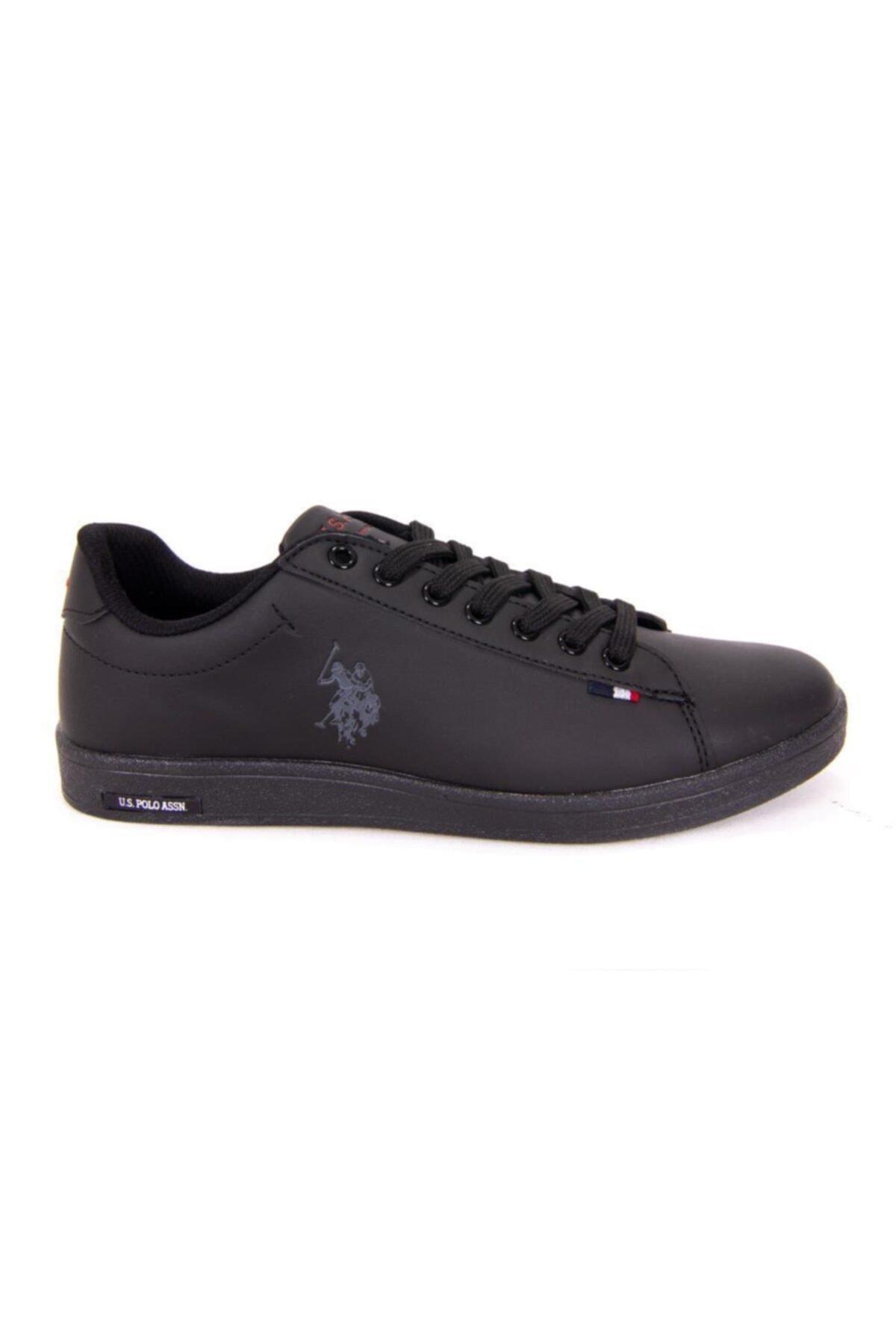 U.S POLO FRANCO DHM Siyah Kadın Sneaker Ayakkabı 100548977 2