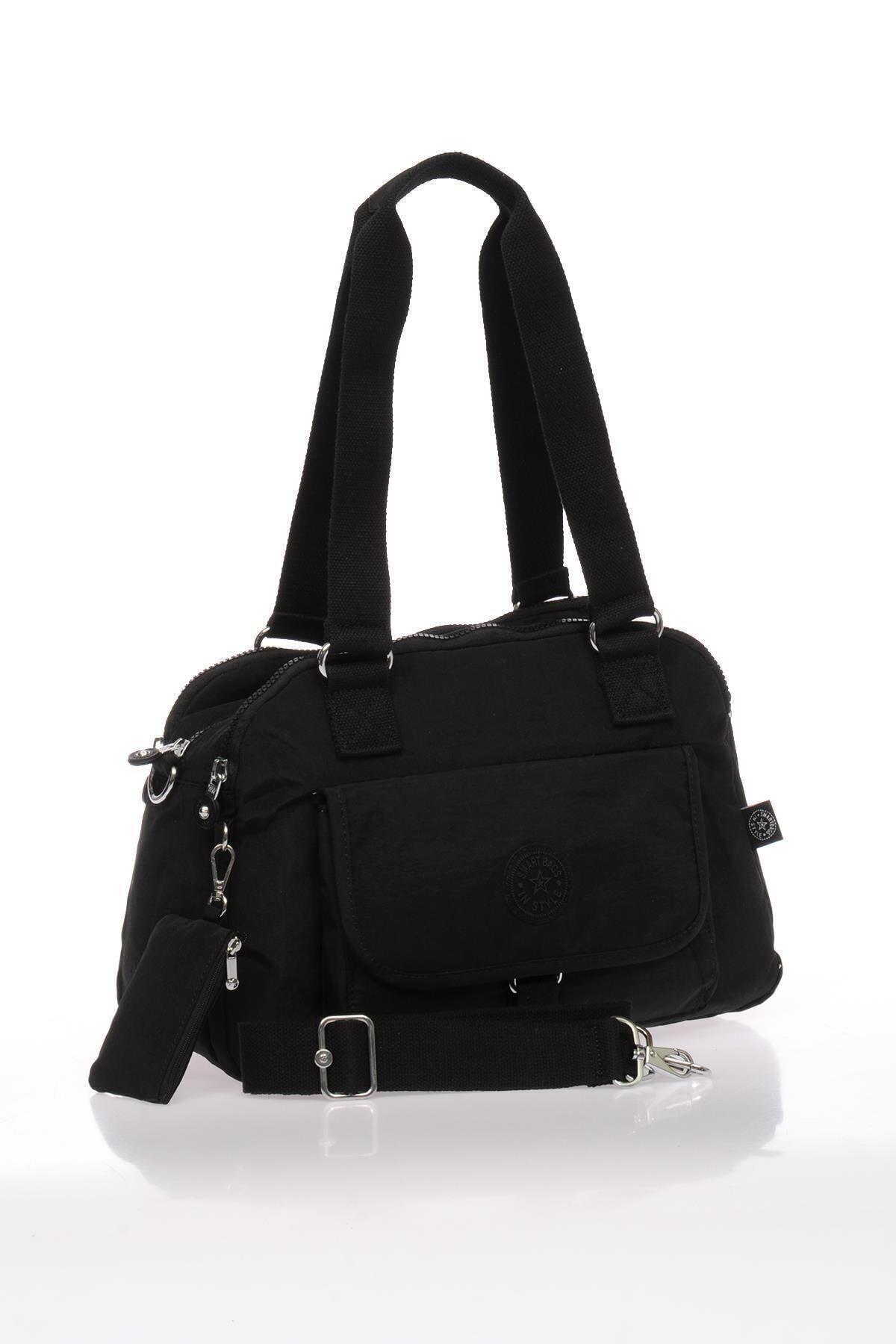 SMART BAGS Kadın Siyah Omuz Çantası 2