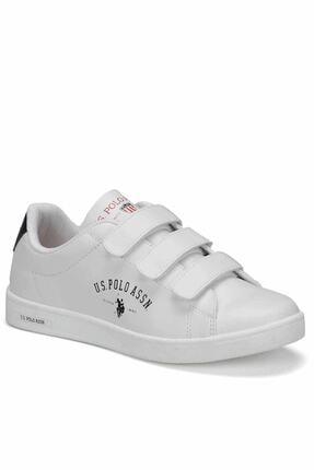 U.S POLO SINGER 9PR Beyaz Kadın Sneaker Ayakkabı 100418133