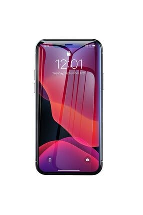 Baseus Iphone 11/iphone Xr Uyumlu Tempered Cam Anti Blue Ekran Koruyucu 2 Adet