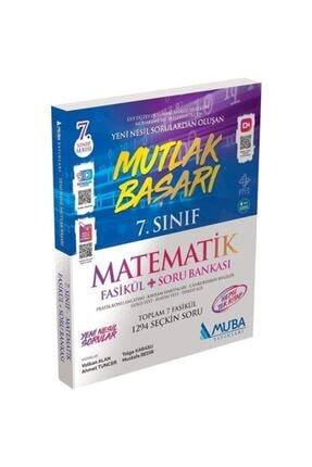 Muba Yayınları Muba 7. Sınıf Matematik Mutlak Başarı Fasikül + Soru Bankası