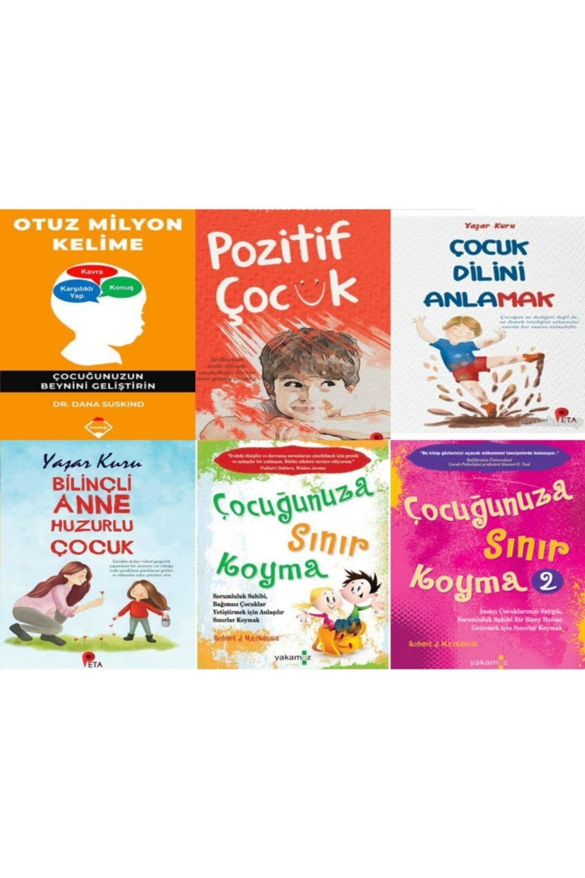 peta kitap Otuz Milyon Kelime,pozitif Çocuk, Çocuk Dilini Anlamak, Bilinçli Anne ,sınır Koyma 1-2(6 Kitap Set) 1