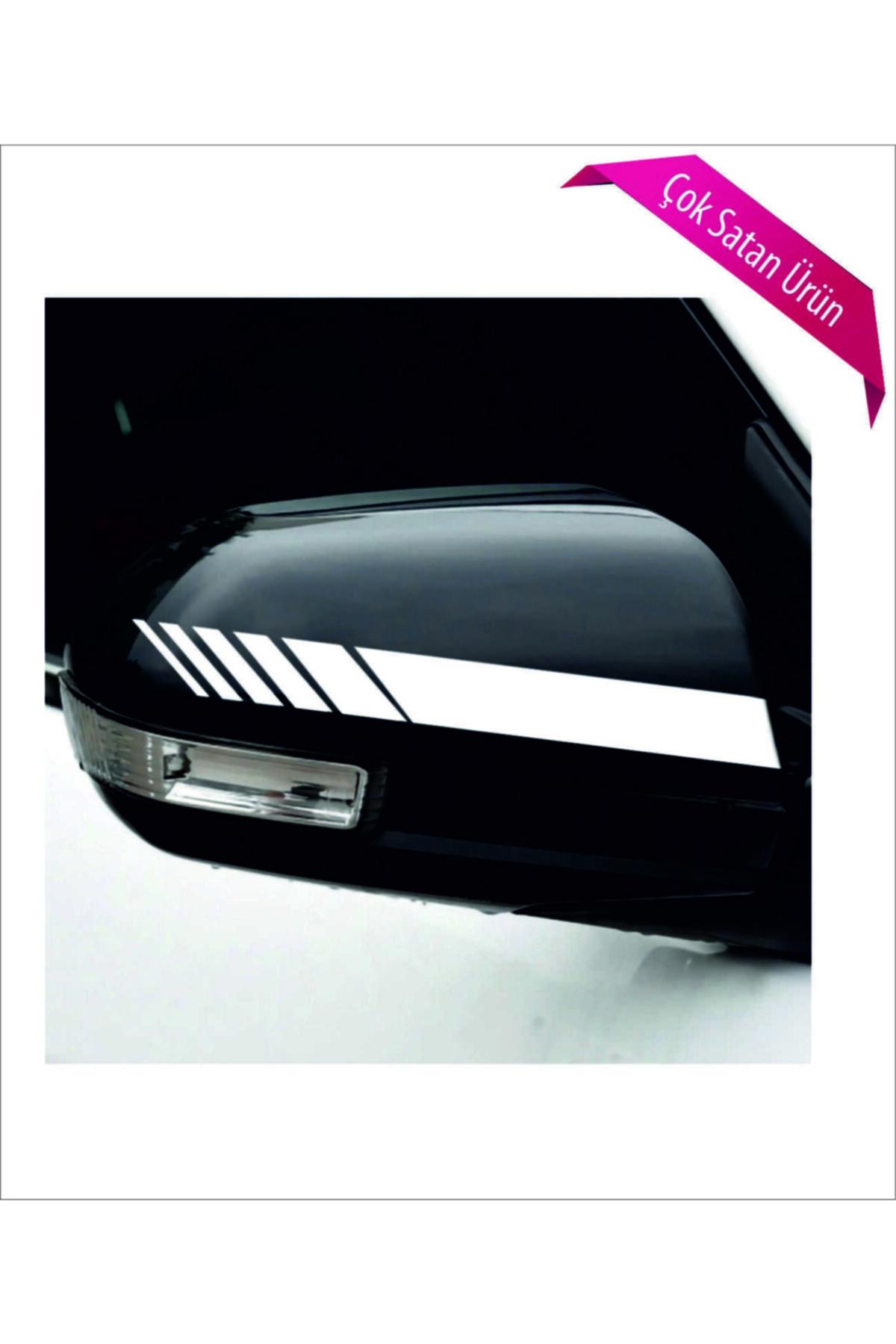 Avery Dennison Ayna Şerit Sticker Beyaz 2 Li 1