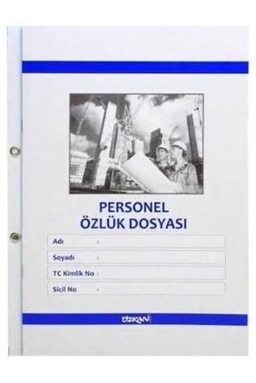 ÖZKAN Personel Özlük Dosyası 25'li Paket