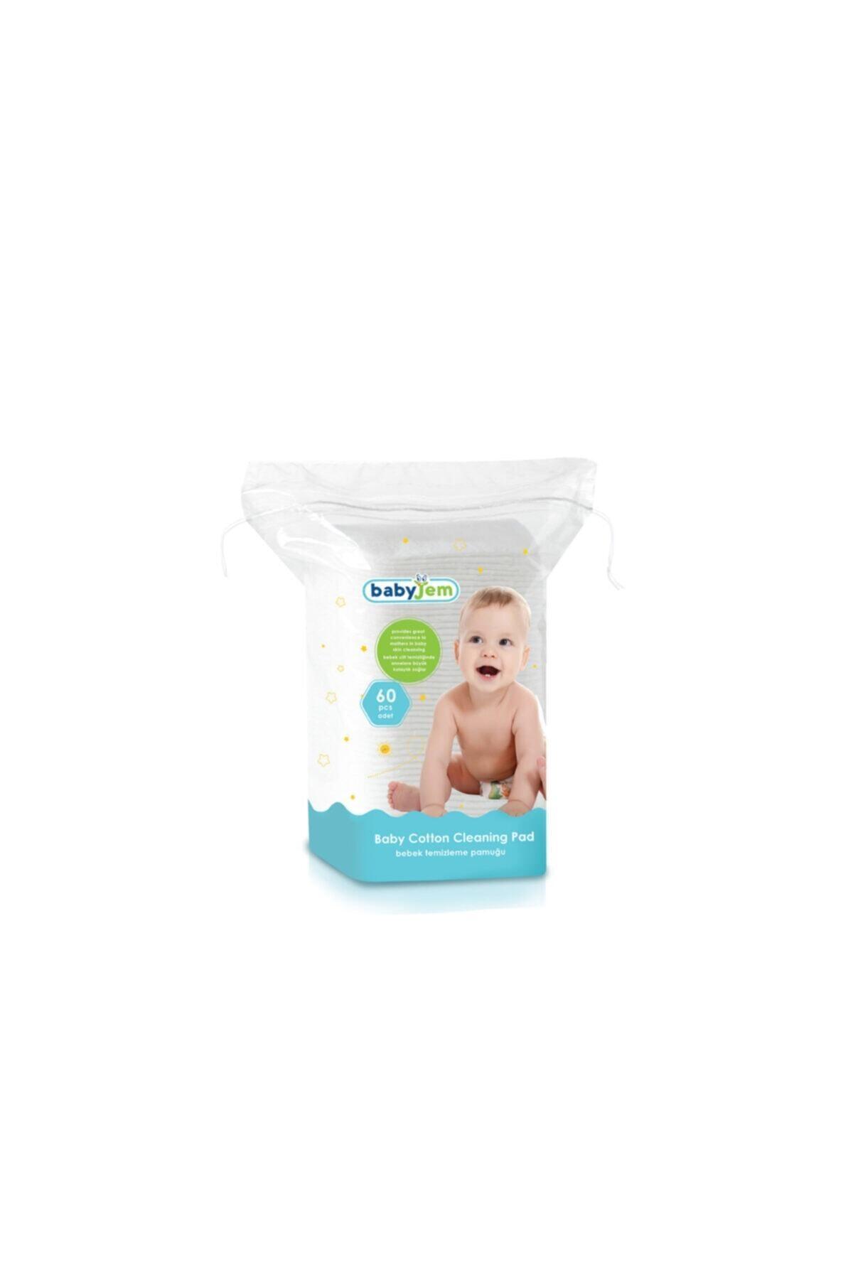 Babyjem Bebek Temizleme Pamuğu 60 Lı * 24 Pkt 1