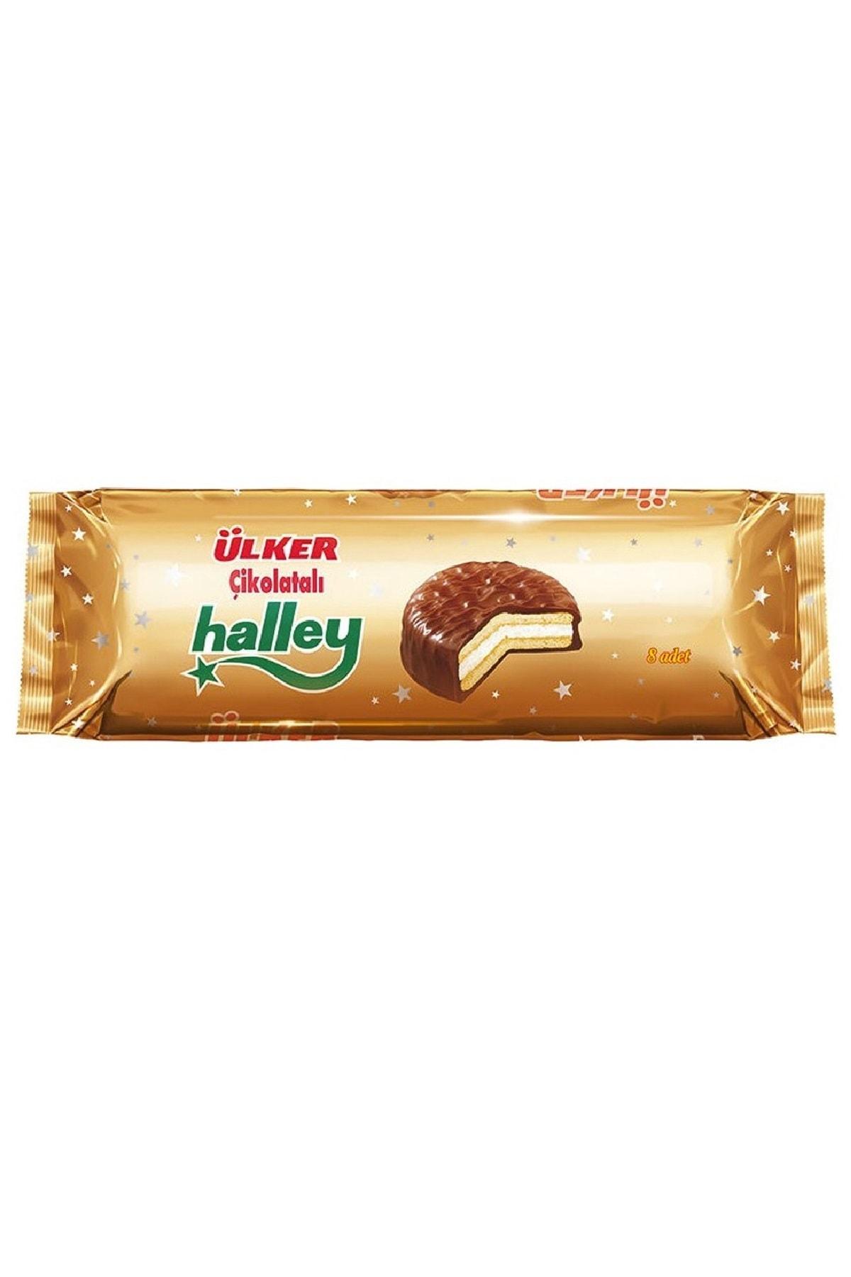 Ülker Halley Çikolatalı 8'li 30 gr 1