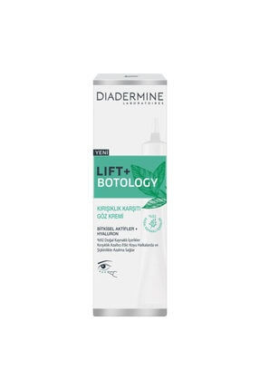 Diadermine Lift + Botology Kırışıklık Karşıtı Göz Kremi 15ml