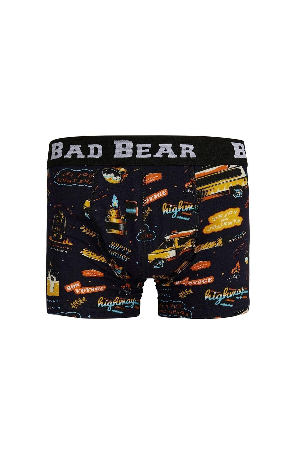 Bad Bear Lacivert Bon Voyage Kısa Boxer 2
