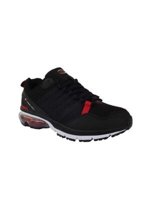 MP Erkek Siyah Bağcıklı Yürüyüş Koşu Ayakkabısı