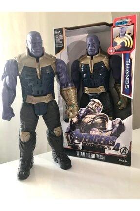 AVENGERS Süper Kahraman Thanos-sesli Figür 30 Cm Oyuncak 8818-14/t