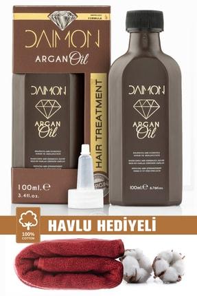 DAIMON Premium Yavaş Uzayan Ve Aşırı Yıpranmış Saçlar Için Özel Formüllü Argan Bakım Yağı 100 ml
