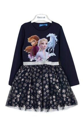 Magu Elsa Kız Çocuk Elbise