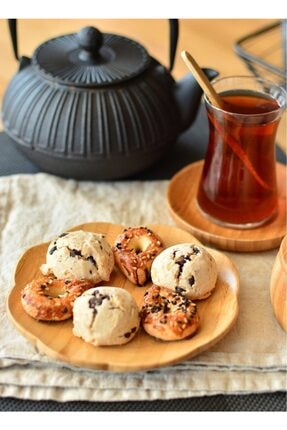 Bambum Pappi Tabak - Tatlı Pasta Kahvaltı Tabağı 20 Cm.6 Lı
