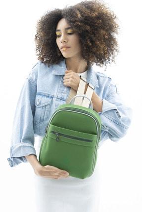 United Colors of Benetton Kadın Yeşil Sırt Çantası Bnt449