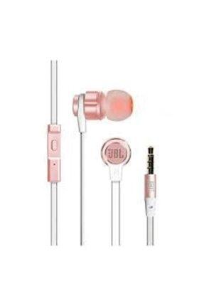 JBL T180a Pure Bass Mikrofonlu Kulak Içi Kulaklık - Rose