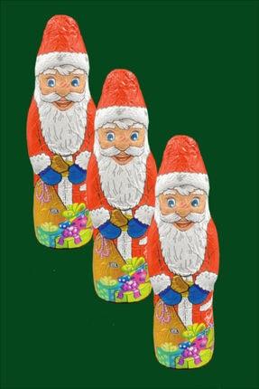Friedel Noel Baba Çikolata Santa Claus Alman Çikolatası 3 Adet Kampanyalı Çikolata 150*3 gr