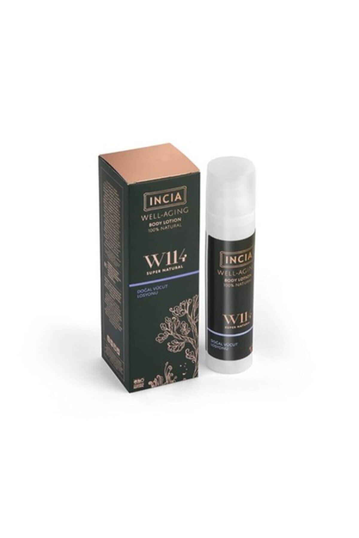 Incia Well Aging Doğal Vücut Losyonu 100 ml 1