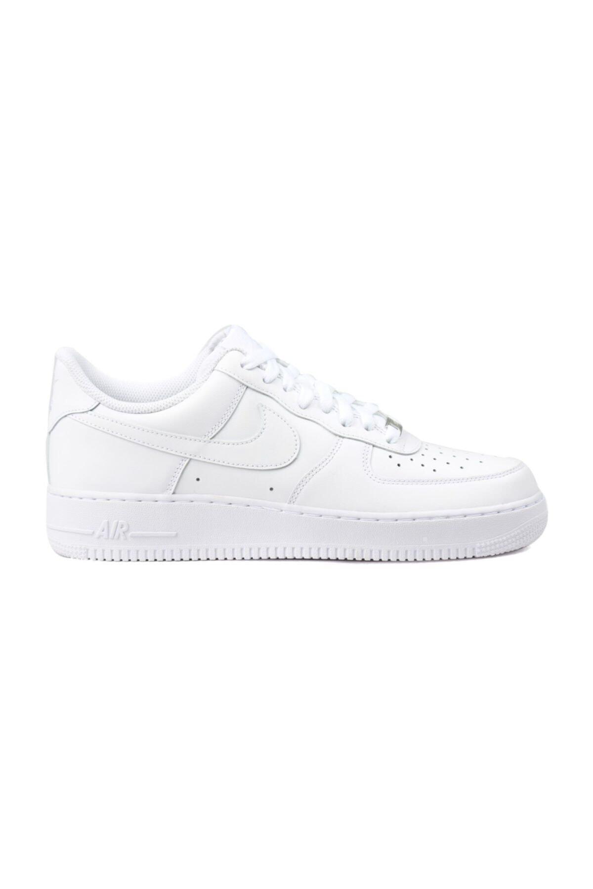 Nike Unısex Beyaz Spor Ayakkabı - Air Force 1 '07 - 315122-111 1