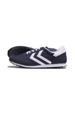HUMMEL Unisex Lacivert Spor Ayakkabı - Seventyone Classic
