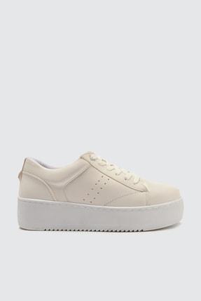 TRENDYOLMİLLA Beyaz Kadın Sneaker TAKSS21SN0021