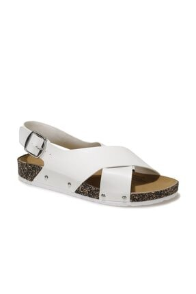 Polaris 315539.Z 1FX Beyaz Kadın Sandalet 101016708
