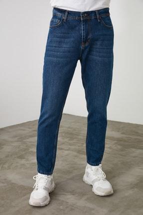 TRENDYOL MAN Lacivert Erkek Relax Fit Jeans TMNSS20JE0519