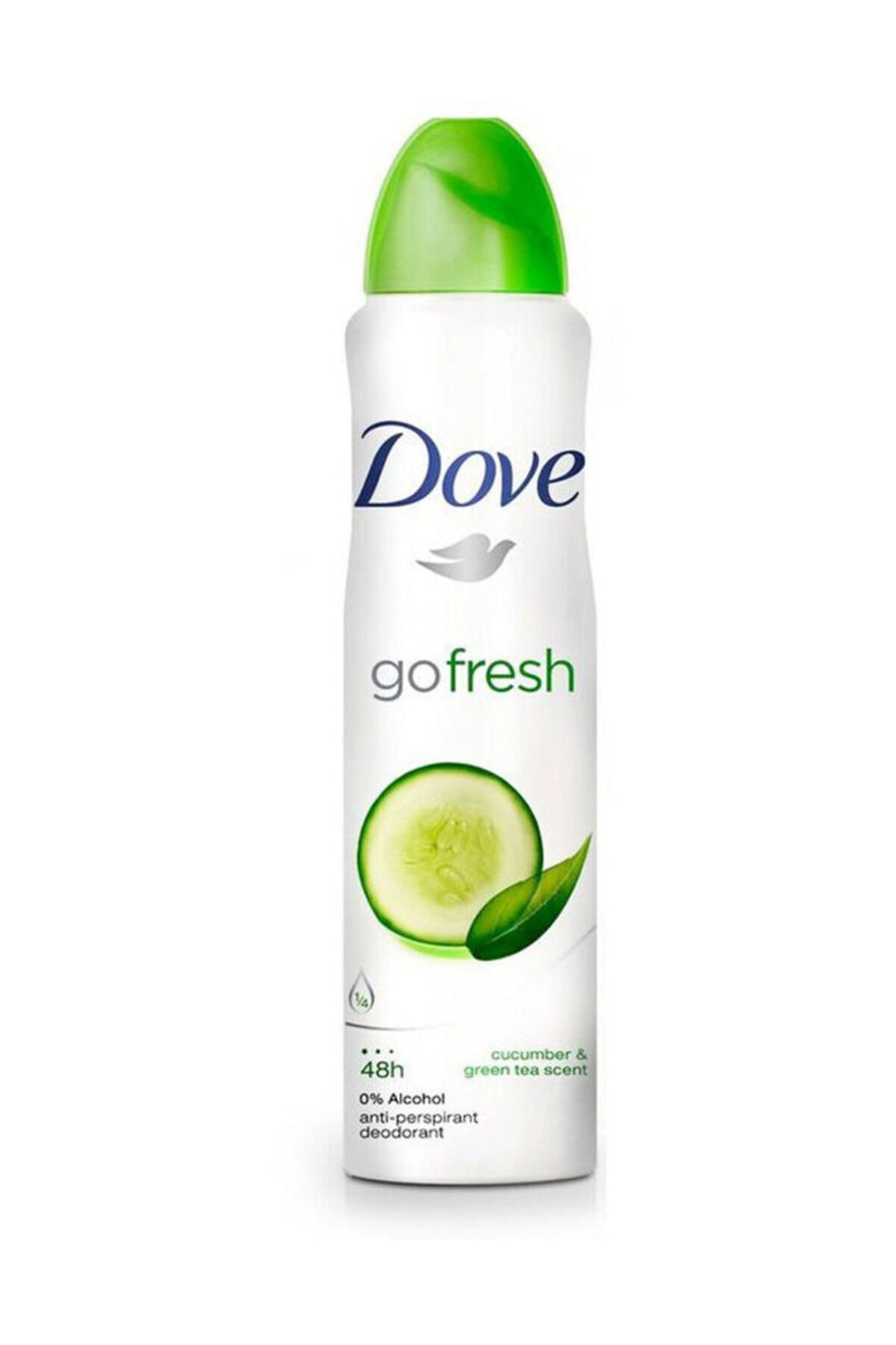 Dove Go Fresh Anti Perspirant Deodorant Sprey 150 ml 2