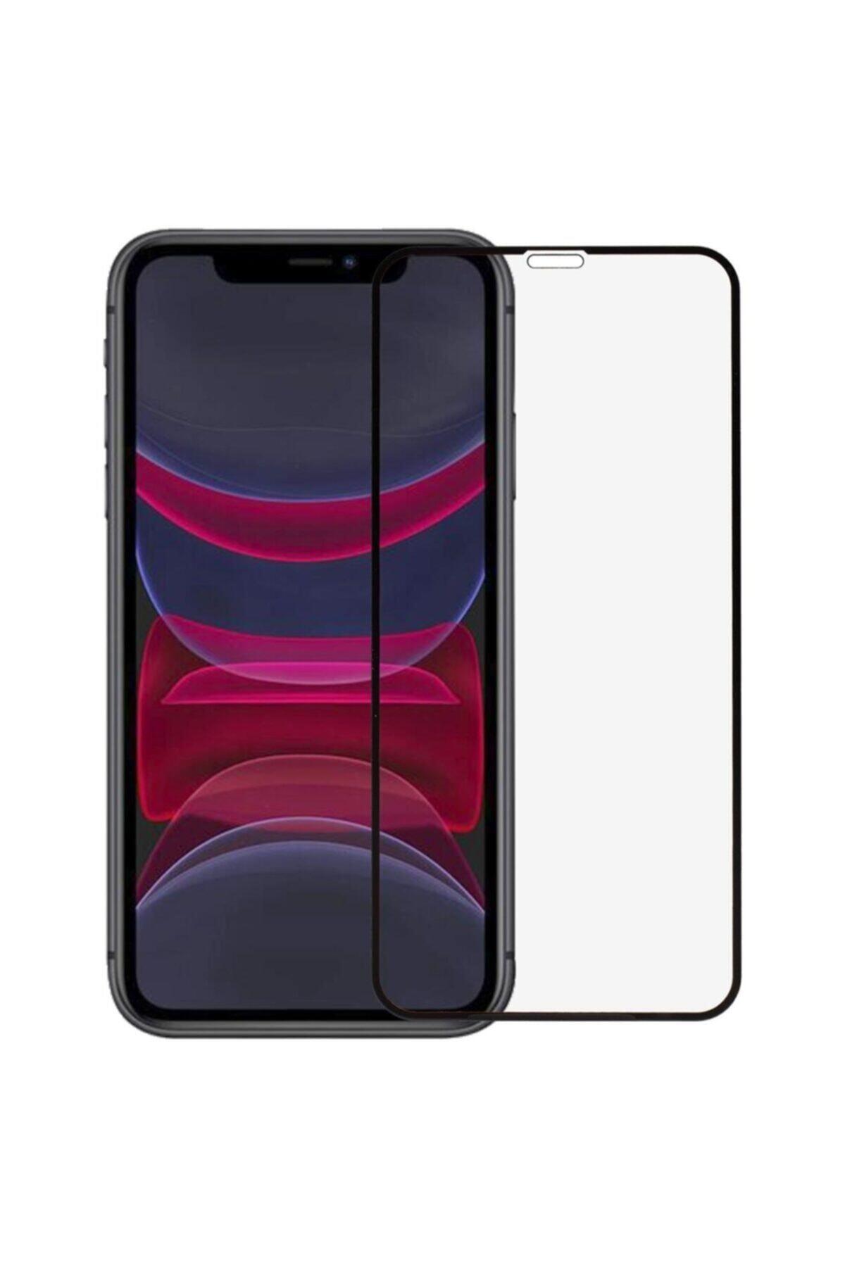 EPRO Siyah Iphone 11 Uyumlu Seramik Nano Ekran Koruyucu Tam Kaplayan Kırılmaz Esnek Cam 1