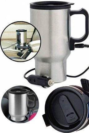 Chermik Araç Içi Su Isıtıcı 12v Kahve Makinası Kupa Tip Mug Termos 1410