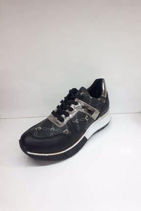 Pierre Cardin Kadın Siyah Günlük Spor Ayakkabı 80002
