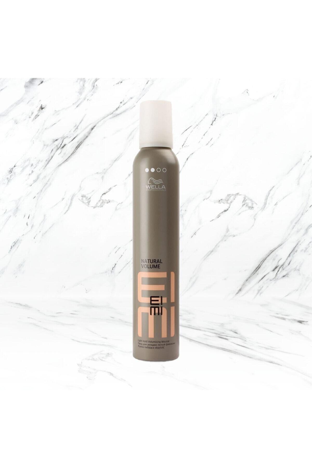 Wella Eımı Natural Volume Hafif Tutuşlu Saç Köpüğü 300ml 1