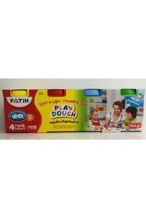 Fatih Playdough Oyun Hamuru 520gr 4 Renk