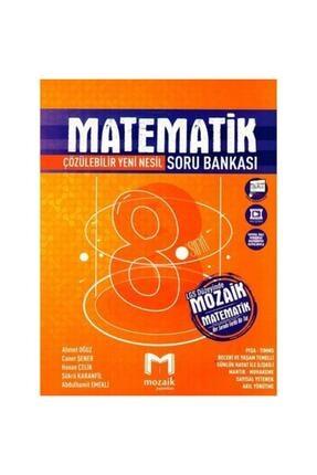 Mozaik Yayınları Mozaik 8. Sınıf Matematik Soru Bankası