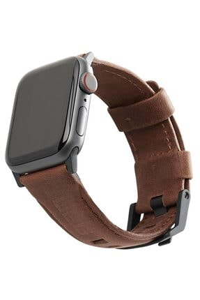 Teknoband Apple Watch Urban Armor Gear ( Uag ) 42/44 Mm Orijinal Deri Kordon