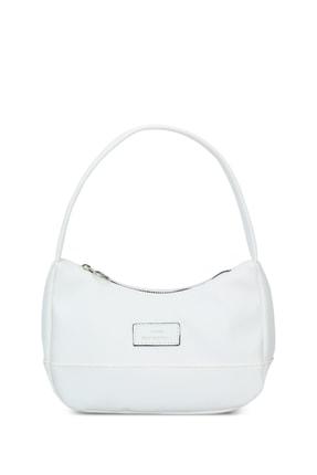 Housebags Kadın Beyaz Baguette Çanta 197