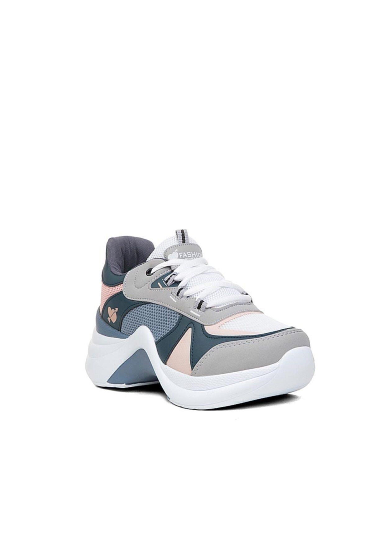 Twingo Kadın Gri  Spor Ayakkabı Sneaker 1