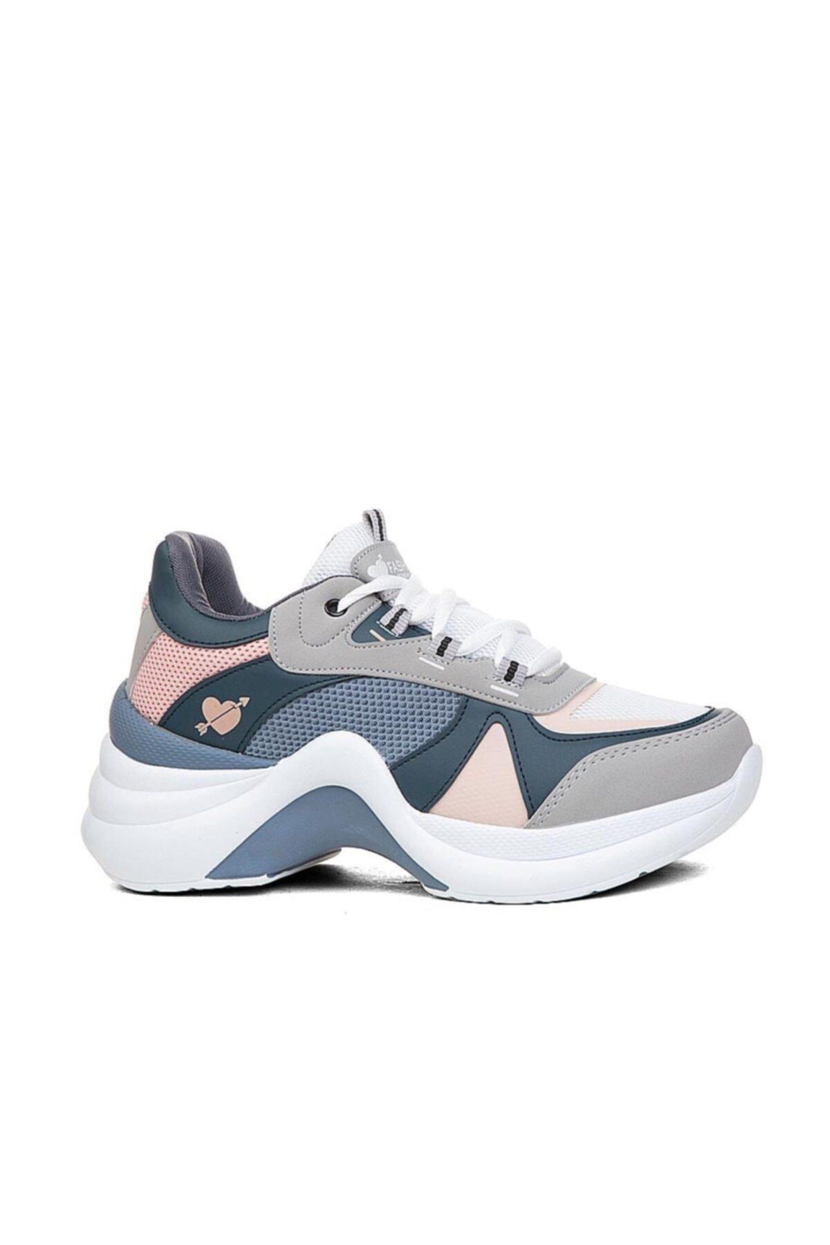 Twingo Kadın Gri  Spor Ayakkabı Sneaker 2