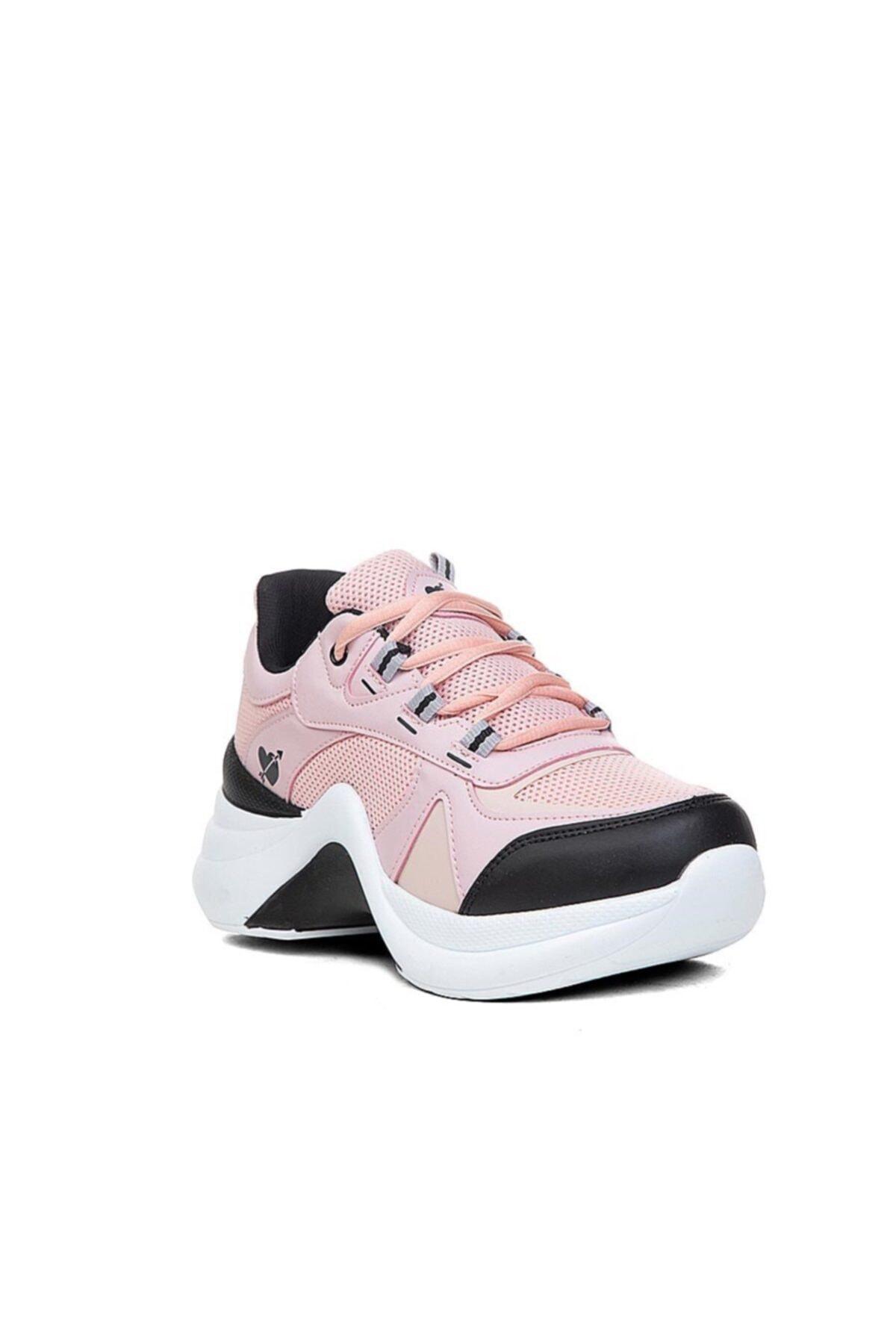 Twingo Kadın Spor Ayakkabı Pudra Sneaker 1