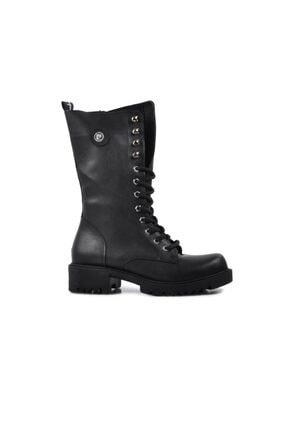 Pierre Cardin 50657 Siyah Kadın Çizme