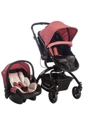 Pierre Cardin Kiremit Fenix Travel Sistem Bebek Arabası