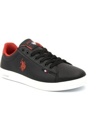 U.S POLO FRANCO WMN 1FX Siyah Kadın Sneaker Ayakkabı 100910311