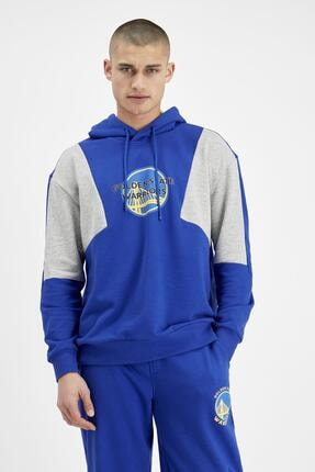 DeFacto Lisanslı Oversize Unisex Kapüşonlu Sweatshirt