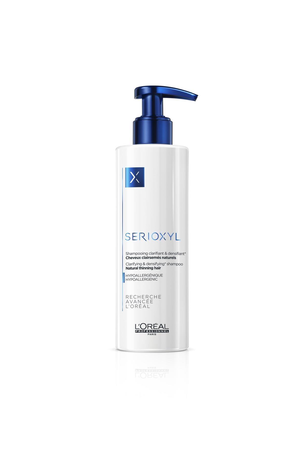 L'oreal Professionnel Serioxyl Denser Hair İncelmiş Doğal Saçlar İçin Hacimlendirici Ve Arındırıcı Şampuan 250 ml
