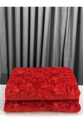 Merinos Kırmızı Elegans Çift Kişilik Battaniye