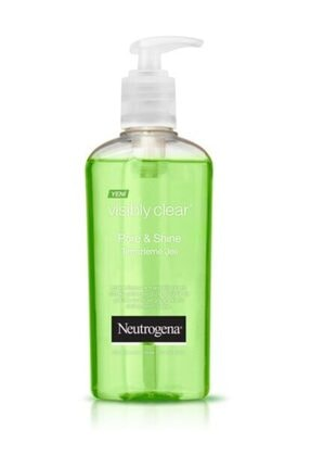 Neutrogena Visibly Clear Pore & Shine Misket Limon Ve Mandalina Içerikli Temizleme Jeli 200 Ml 3574661156347