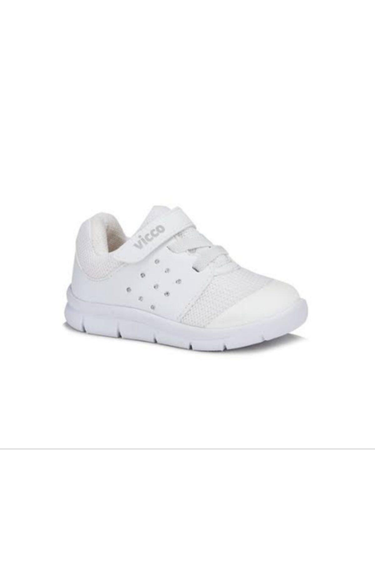 Vicco Mario Unisex Çocuk Beyaz Spor Ayakkabı 1