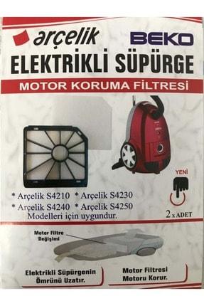Arçelik 4240 Elektrik Süpürgesi Motor Koruma Filitresi 2 Li Orjinal