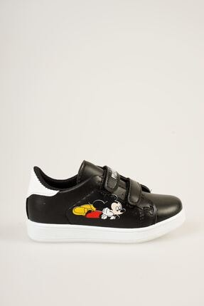 epaavm Baskılı Siyah Çocuk Ayakkabı