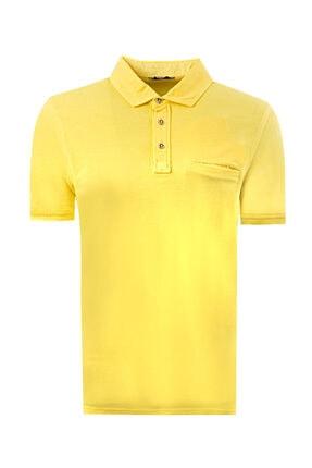 D'S Damat Twn Slim Fit Sarı T-shirt
